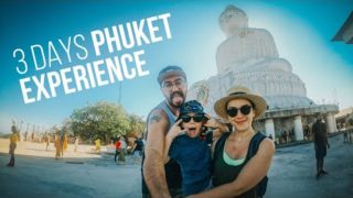 3 Days Phuket, Thailand Experience with GoPro Hero 8 Vlog