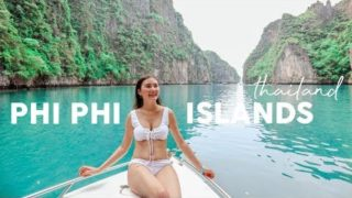 A Boat Trip To Paradise: Phi Phi Islands⎮Thailand Travel Vlog
