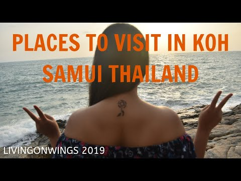 KOH SAMUI – THAILAND | TOP 10 TOURIST ATTRACTIONS | GUIDE TO BEST PLACES IN THAILAND | VLOG 13