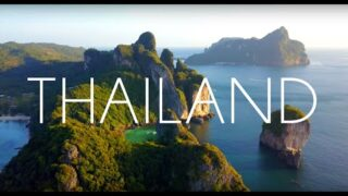 Thailand 4K Long Video of  Phi Phi Islands & Phuket