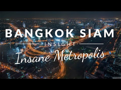 METROPOLIS MADNESS in Bangkok. Can I find what I'm looking for? (Siam district by night)